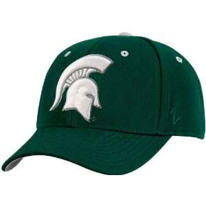 Zephyr Michigan State Spartans Youth Green Logo Z fit Flex Fit Hat