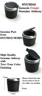 Genesis Coupe Genuine Cigarette Ashtray OEM Part from Korea