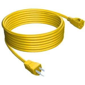 Stanley 33507 Yellow Outdoor Extension Cord, 50 Foot