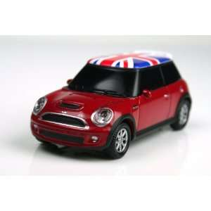 2nd Gen. Mini Cooper USB Flash Drive 4GB   RED UNIONJACK