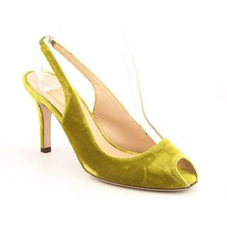 Kate Spade Grammy Womens SZ 7 Yellow Slingbacks Peep Toe Shoes