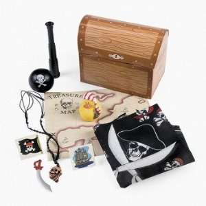 Filled Treasure Chest Treat Boxes   Party Favor & Goody Bags & Filled