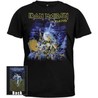 Iron Maiden   Live After Death Tour T Shirt Clothing