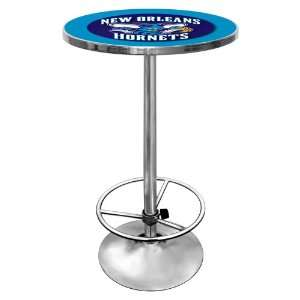 NBA New Orleans Hornets Chrome Pub Table Sports
