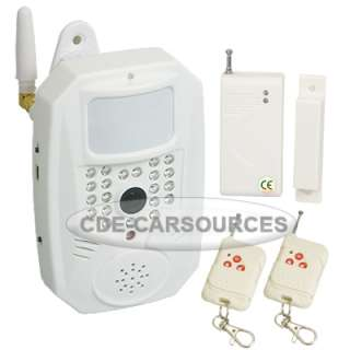 Home Security SMS MMS DVR Burglar Wireless PIR Camera Alarm System