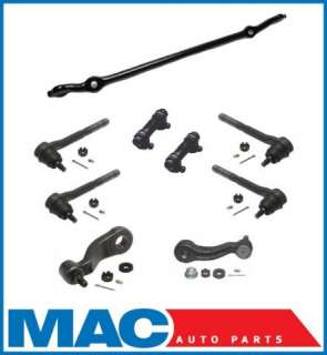 Steering Tie Rod Ends Drag Link Pitman Idler Arm Kit