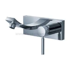 Fluid F14007 Single Handle Wall Mount Lavatory Faucet