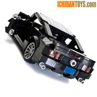 New LEGO Custom 2012 Ford Mustang Car Black 367 pieces   COMPLETE KIT