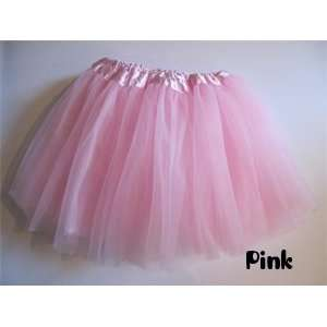 Princss Fairy Ballerina Dress Up Tutu for Baby Toddler Girls   Pink