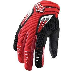 Fox Racing Platinum Gloves   11/Bright Red Automotive