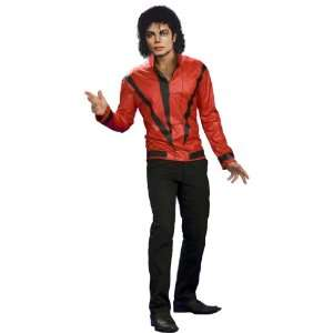 By Rubies Costumes Michael Jackson Red Thriller Jacket Adult Costume