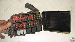 1997 97 FORD F150 FUSE BOX RELAY SWITCH PANEL 4.2L 4X4