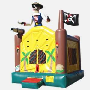Kidwise 15 Foot Pirate Bounce House (Commercial Grade) Toys & Games