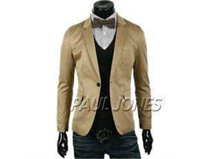 Brand New PJ Stylish Slim Fit Mens Casual Jackets Coats US Size XS/S/M