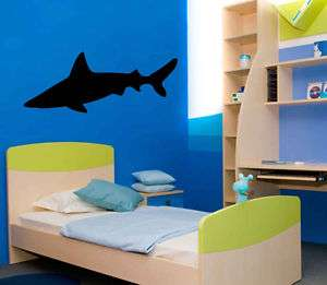 Sea Ocean Great White Shark Wall Decor Vinyl Decal 5ft