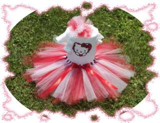 BABY GIRL TUTU DRESS ~HELLO KITTY~CUSTOM BOUTIQUE SET,★