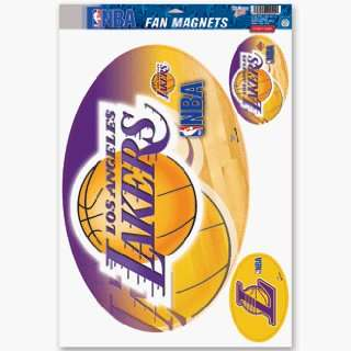 Los Angeles Lakers Car Magnet Set