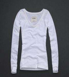 ABERCROMBIE & FITCH KIDS GIRLS BLAIR WHITE TOP SMALL