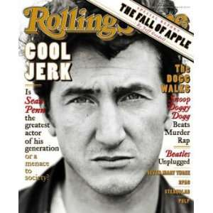 of Sean Penn / Rolling Stone Magazine Vol. 731, April 4, 1996, Movie