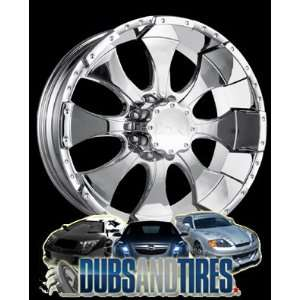 18 Inch 18x9 Ion Alloy wheels STYLE 137 Chrome wheels rims
