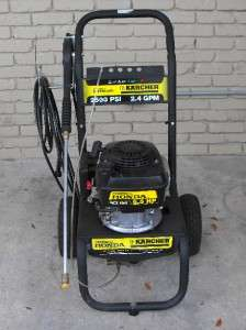 Kärcher G2500VH 2500 PSI (Gas  Cold Water) Pressure Washer w/ Honda