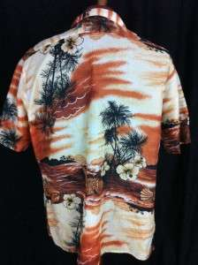 WAIKIKI HOLIDAY MENS CASUAL HAWAIIAN SHIRT