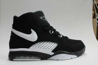 Nike Air Maestro Flight Black White Authentic Mens Basketball Sneakers