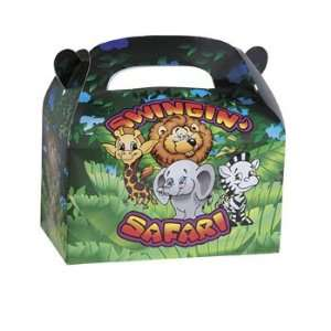 Swingin Safari Filled Treat Box   Party Favor & Goody Bags & Filled