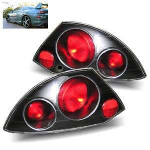 00 05 Mitsubishi Eclipse Black Tail Lights Automotive