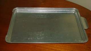 Vintage Mirro Aluminum Cake Pan Lid for 13x9 Pan