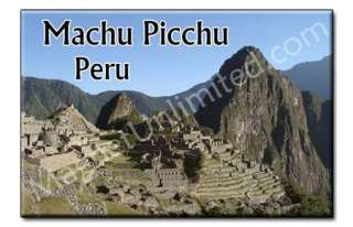 Machu Picchu   PERU Souvenir Photo Fridge Magnet