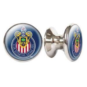 Club Deportivo Chivas USA MLS Stainless Steel Cabinet Knobs / Drawer