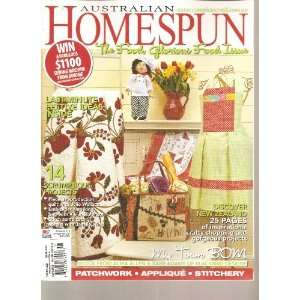 Australian Homespun Magazine (Food Glorious Food Issue, No