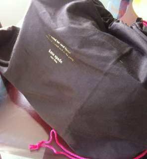 KATE SPADE GOLD COAST MARYANNE QUILTED BLACK LEATHER BAG