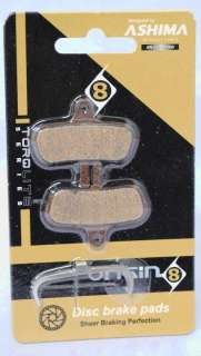 SET OF ASHIMA DISC BRAKE PADS/SHOES FOR AVID CODE NEW
