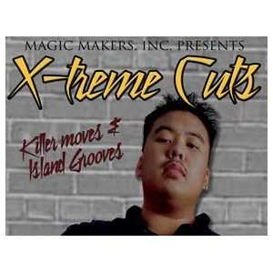 Extreme Cuts DVD with Keone   Card Magic Tricks Toys