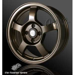 15 X 6 INCHES OPTION GROUP RACING WHEELS RIM 5 SPOKE 4 x