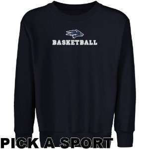 Nevada Wolf Pack Youth Navy Blue Custom Sport Logo
