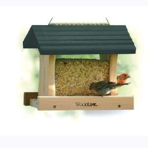 Cedar Garden Green Roof Bird Feeder