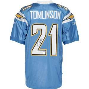LaDainian Tomlinson San Diego Chargers Autographed Reebok EQT Jersey