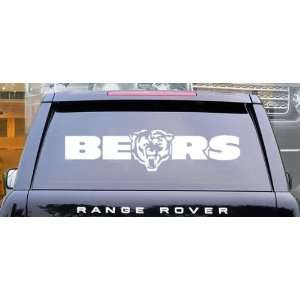 Chicago Bears NFL Wall / Auto Art Vinyl Decal Stickers