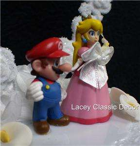 Nintendo Super MARIO Princess Wedding Cake Topper TOP 3