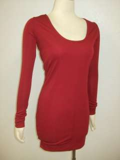 DESCRIPTION  NWT Barlow Wine Red Corset Feminine Tunic Dress Sz XS S