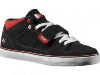 Es Theory 1.5 Black/Red/White Skate Shoes