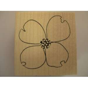 Dogwood Bloom Wood Mounted Stamp// Memory Box Arts