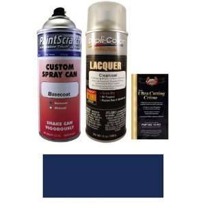 12.5 Oz. Dark Baltic Blue Metallic Spray Can Paint Kit for