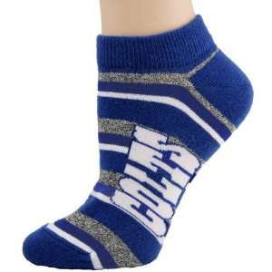 Indianapolis Colts Ladies Team Stripes Socks Sports