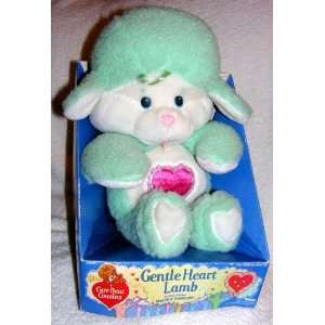 1985 Vintage Care Bear Cousins 13 Plush Gentle Heart Lamb