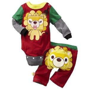 Harajuku Mini for Target Baby Boys 2 Piece Lion Set   6 Months