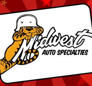 Midwest Auto Specialties Vintage Muscle Car Drag Race T
